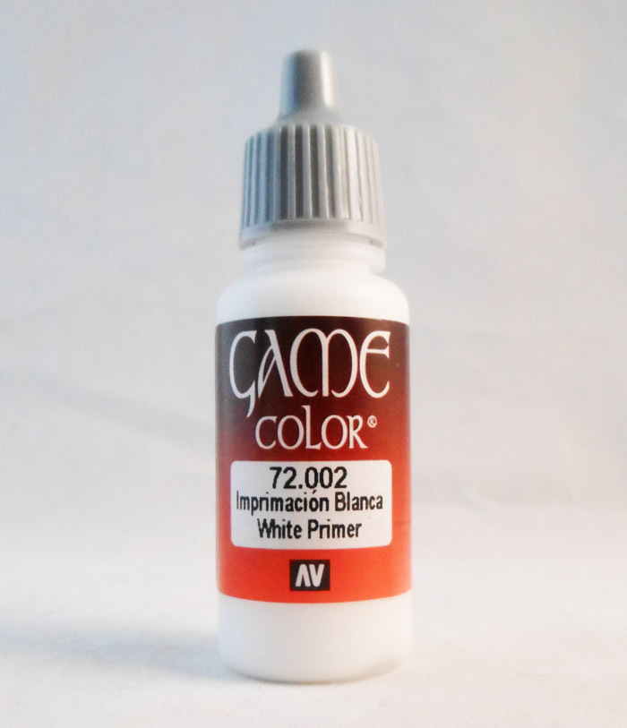 Vallejo Paint: White Primer
