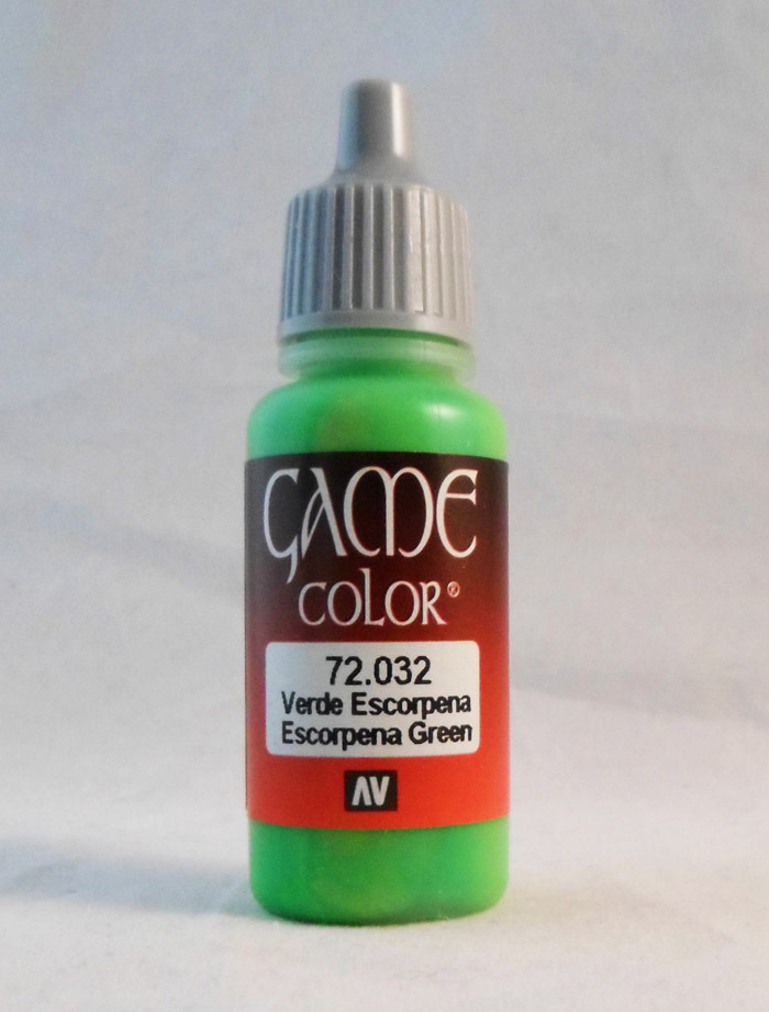 Vallejo Paint: Escorpena Green