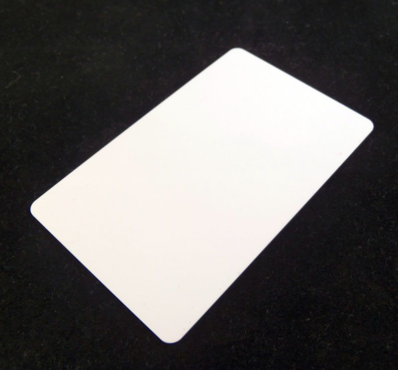 White Colored Plastic Sheet for Customizing