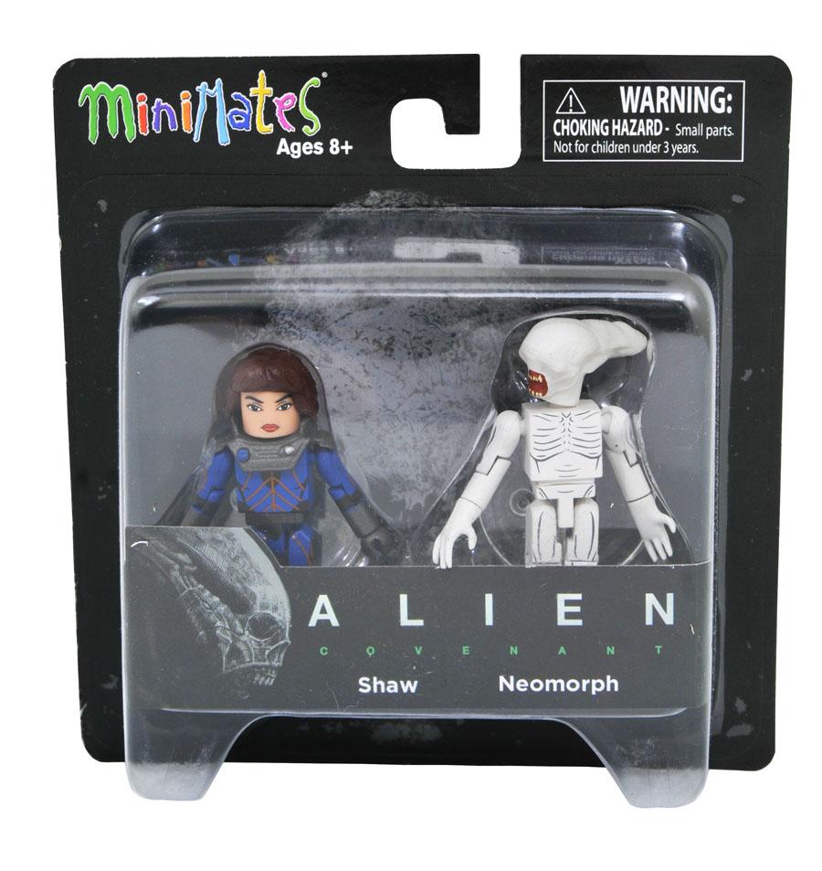 Shaw & Neomorph Alien Covenant Minimates