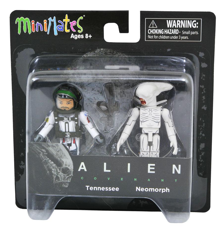 Tennessee & Neomorph Alien Covenant Minimates