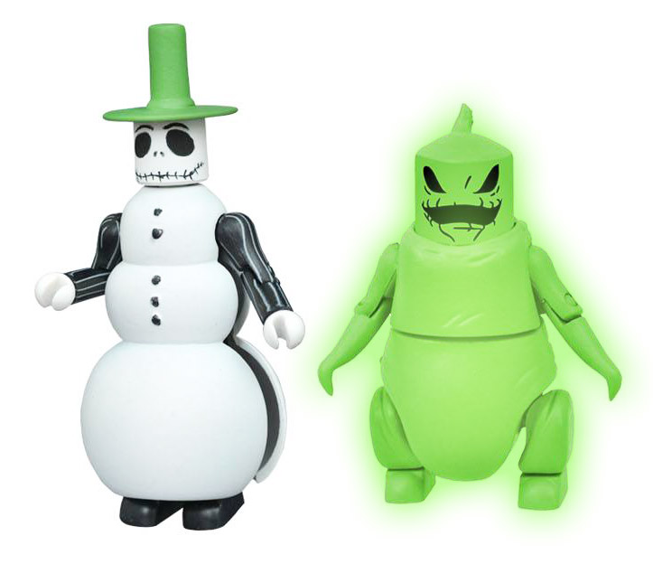 Snowman Jack & Glow in the Dark Oogie Boogie Minimates