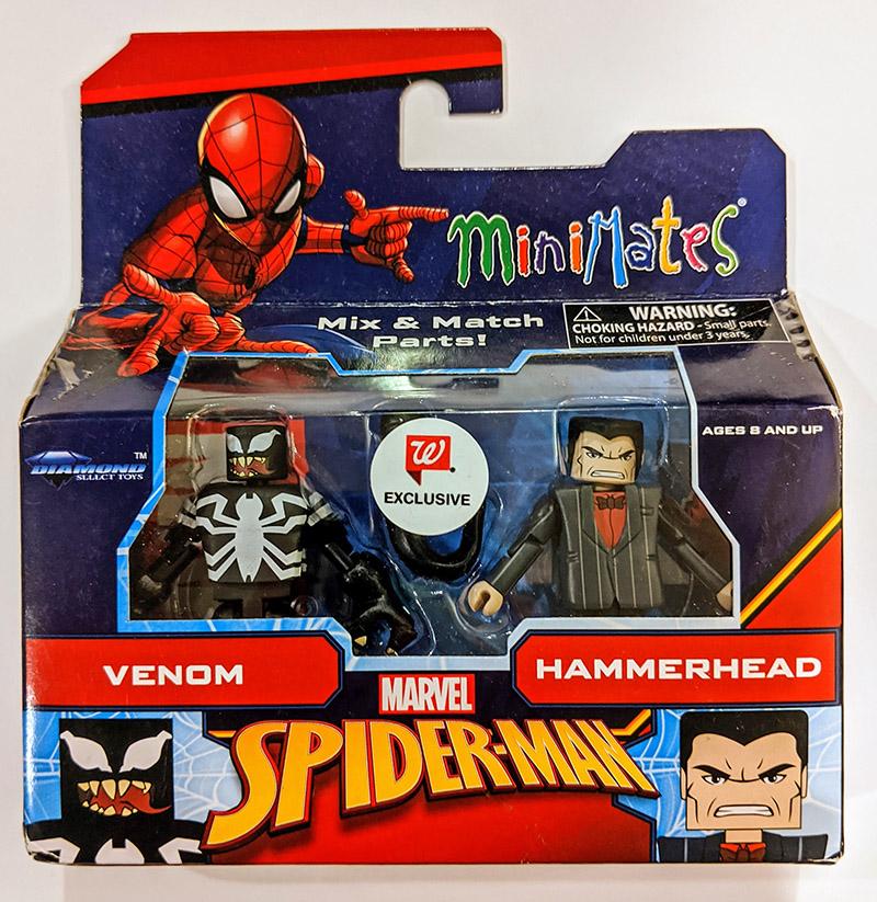 Venom & Hammerhead Walgreens Marvel Minimates