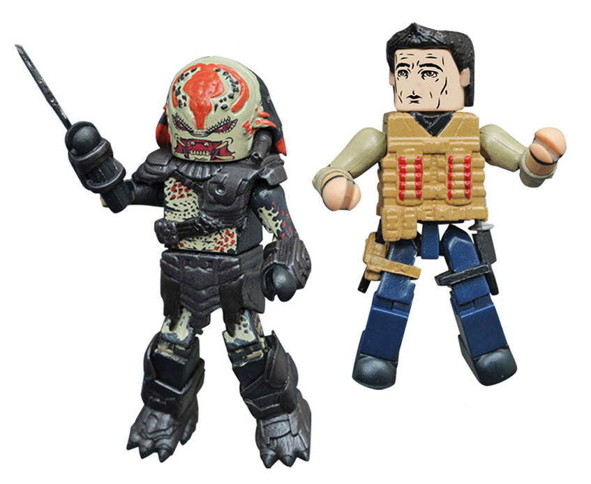Royce vs. Berserker Predator Minimates