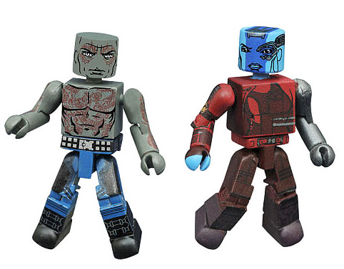 Drax & Nebula Guardians of the Galaxy 2 Minimates