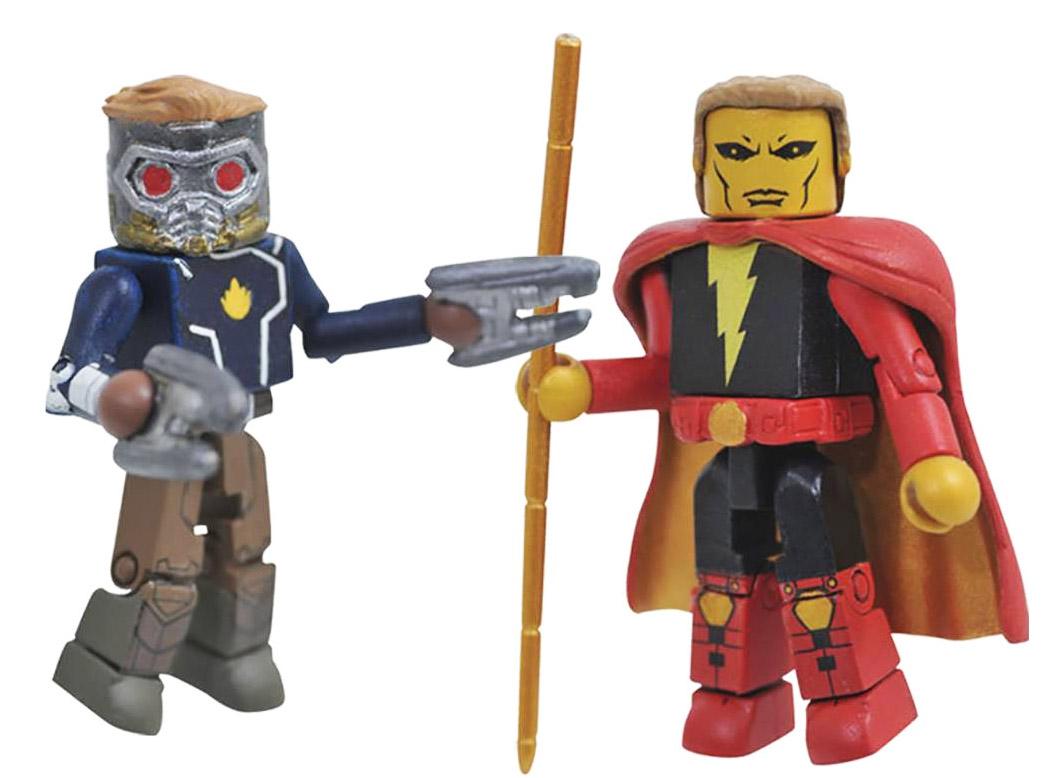 Starlord & Adam Warlock Minimates