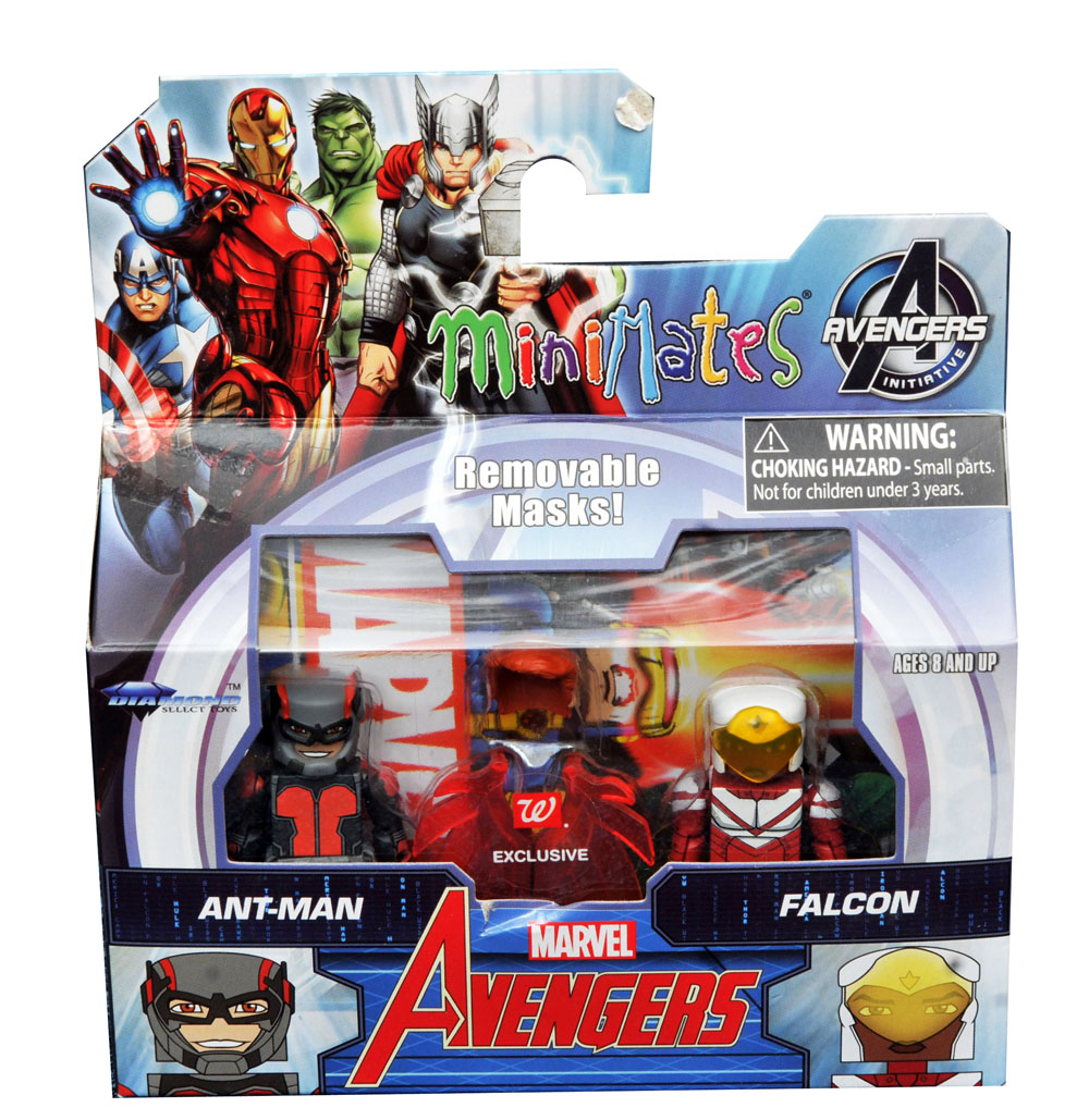 Ant-Man & Falcon Walgreens Minimates - LOOSE ONLY