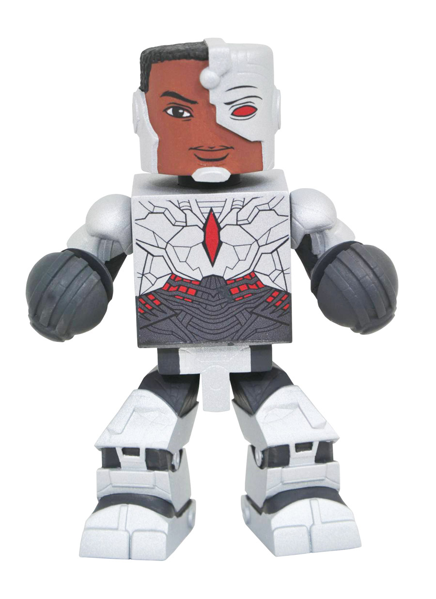 Cyborg Justice League Movie DC Vinimate Vinyl Figure