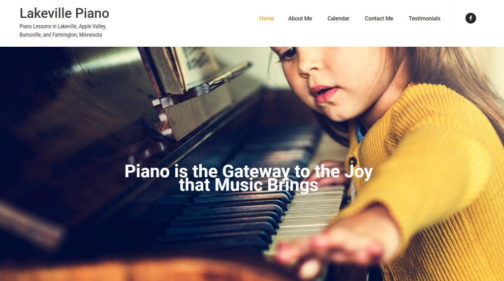 Lakeville Piano Website