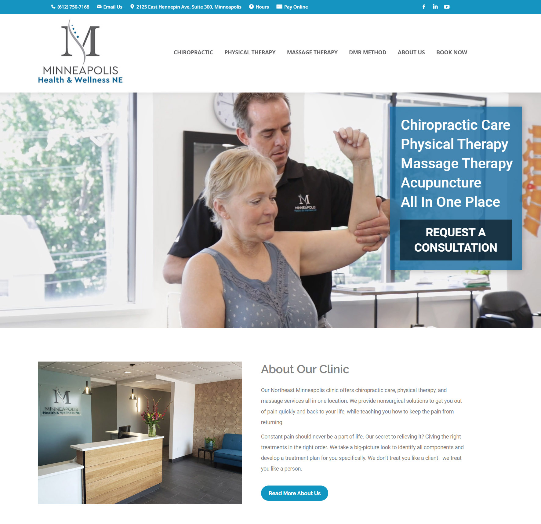 Minneapolis Health and Wellness Website