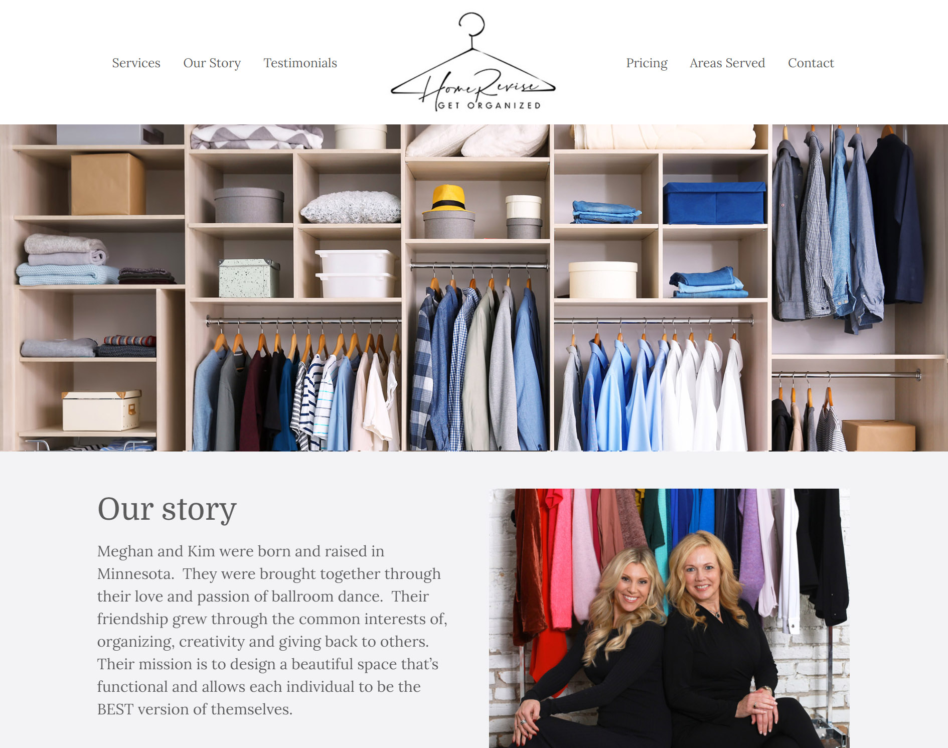 Home-Revise Website Design by Moving Tree Media