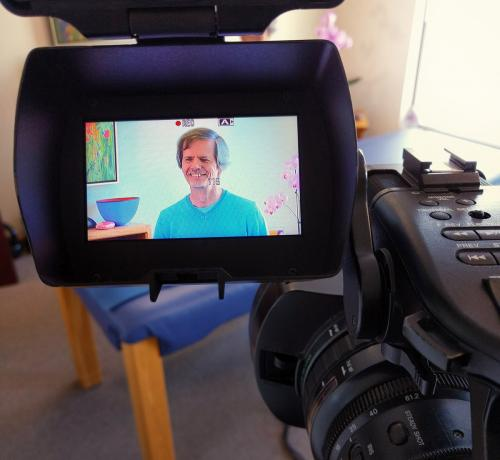 Filming at Osteopathy Clinic
